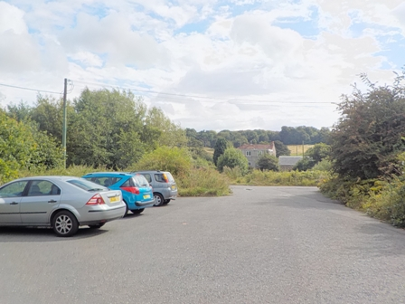 The car park at Page Bank