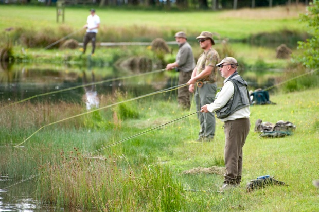 will they won't they, anglers looking for that special fish